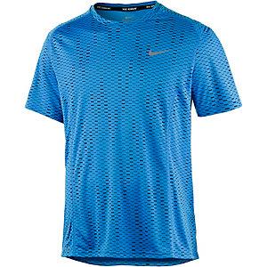 Nike Dri-Fit Miler Fuse Laufshirt Herren blau