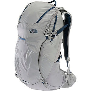 The North Face Litus 32 Wanderrucksack grau/blau