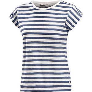 Lee T-Shirt Damen blau/weiß