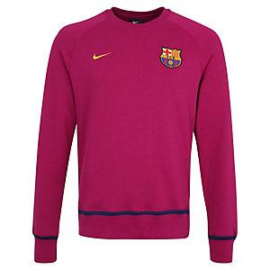 Nike FC Barcelona AW77 Crew Sweatshirt Herren violett / gold