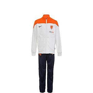 Nike Niederlande Trainingsanzug Kinder weiß / orange