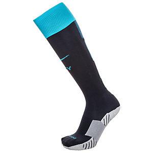Nike Manchester City 15/16 Auswärts Stutzen Herren dunkelblau / hellblau