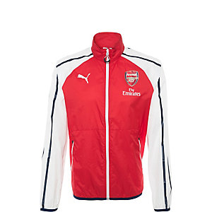 PUMA Arsenal London Trainingsjacke Herren rot / weiß / blau