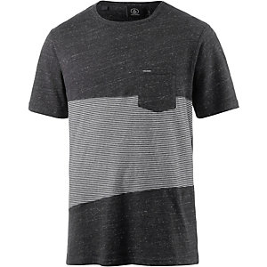 Volcom Threezy T-Shirt Herren schwarz/grau