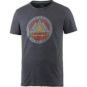 Volcom Dusk Printshirt Herren graumelange