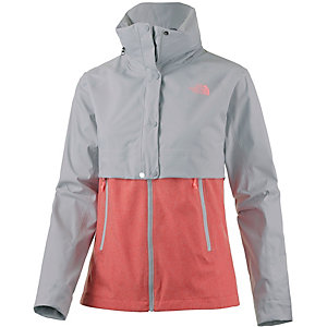 The North Face Kayenta Hardshelljacke Damen grau/apricot