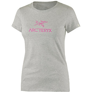 Arcteryx Arc´word SS Printshirt Damen grau