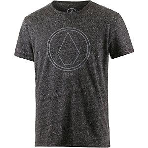 Volcom Pinline Printshirt Herren graumelange
