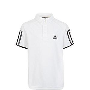 adidas Club Tennis Polo Jungen weiß / schwarz