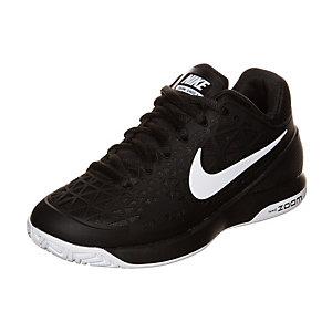 Nike Zoom Cage 2 Tennisschuhe Kinder schwarz / weiß