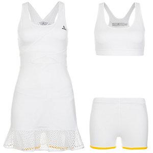 adidas Barricade Wimbledon Tenniskleid Damen weiß / gelb