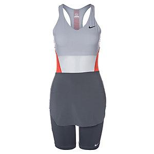 Nike Premier Maria Day Tunic Tenniskleid Damen grau / anthrazit