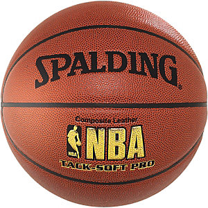 Spalding NBA Tack-Soft Pro Basketball orange / schwarz