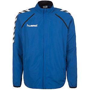 hummel Stay Authentic Micro Trainingsjacke Herren blau / weiß / schwarz