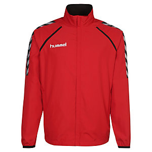 hummel Stay Authentic Micro Trainingsjacke Herren rot / weiß / schwarz