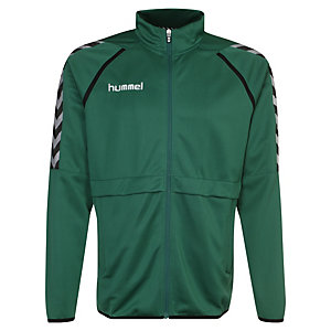 hummel Stay Authentic Poly Trainingsjacke Herren grün / schwarz