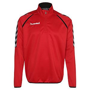 hummel Stay Authentic Poly Sweatshirt Herren rot / weiß / schwarz