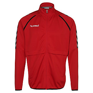 hummel Stay Authentic Poly Trainingsjacke Herren rot / weiß / schwarz