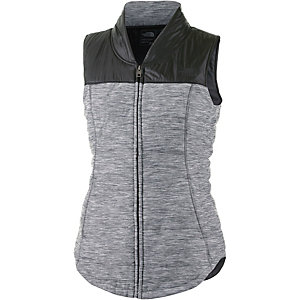 The North Face Pseudio Outdoorweste Damen grau/schwarz