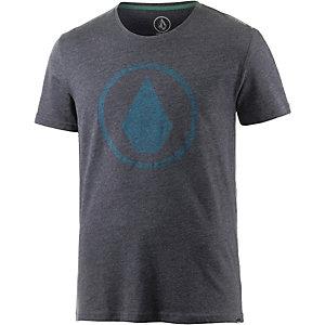 Volcom Solid Stone T-Shirt Herren graumelange