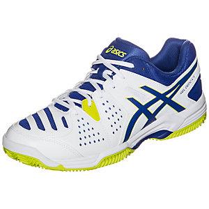 ASICS Gel-Dedicate 4 Clay Tennisschuhe Herren weiß / blau / lime