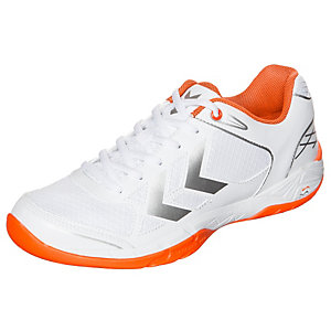hummel Handballschuhe Herren weiß / orange