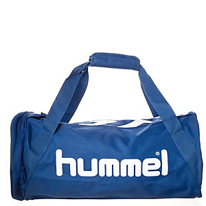 hummel Stay Authentic Sporttasche blau / weiß