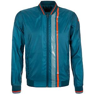 ASICS Athlete Trainingsjacke Herren blau / orange