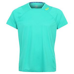 ASICS Athlete Tennisshirt Herren grün