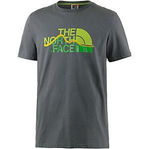 The North Face Mountain Line Printshirt Herren oliv