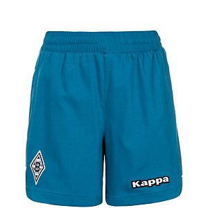 KAPPA Borussia Mönchengladbach 3rd 2015/2016 Fußballshorts Kinder blau