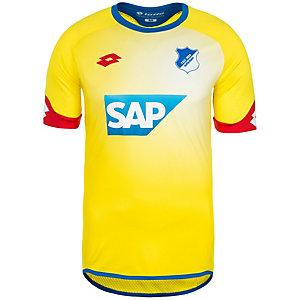 Lotto 1899 Hoffenheim Away 2015/2016 Fußballtrikot Herren gelb / rot / blau