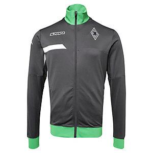 KAPPA Borussia Mönchengladbach Trainingsjacke Herren anthrazit / grün