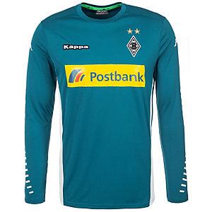 KAPPA Borussia Mönchengladbach Home 2015/2016 Torwarttrikot Herren blau / weiß