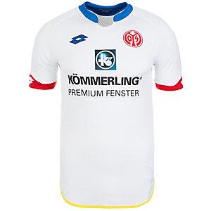 Lotto FSV Mainz 05 Away 2015/2016 Fußballtrikot Herren weiß / blau