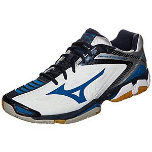 Mizuno Wave Stealth 3 Handballschuhe Herren dunkelblau / weiß