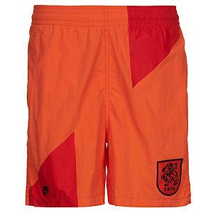 Nike Niederlande Covert Team Fußballshorts Herren orange / schwarz