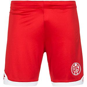 Lotto 1. FSV Mainz 05 Home 2015/2016 Fußballshorts Herren rot / weiß
