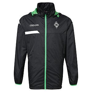 KAPPA Borussia Mönchengladbach Regenjacke Herren schwarz