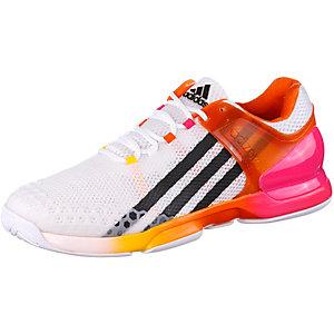 adidas Adizero Ubersonic Tennisschuhe Herren weiß/orange/pink