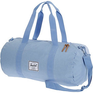 Herschel Reisetasche Chambray Crosshatch