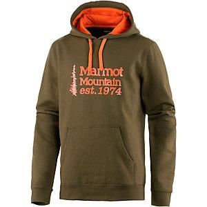 Marmot 74 Hoodie Herren oliv