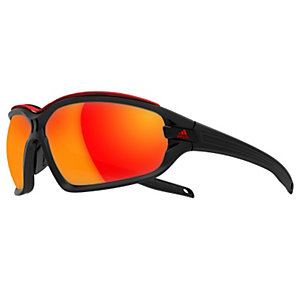 adidas evil eye evo pro Sonnenbrille schwarz/rot
