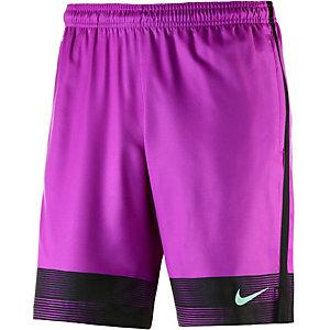 Nike Strike Fußballshorts Herren lila/schwarz