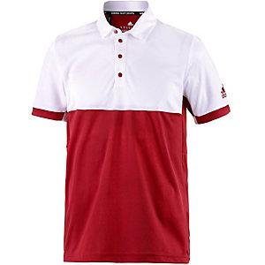 adidas T16 CC Tennis Polo Herren rot/weiß