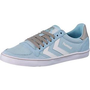 hummel Slimmer Stadil Low Sneaker Damen blau