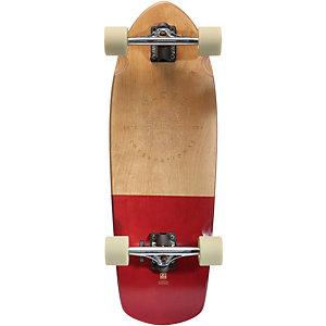 """Globe Stubby 30"""" Skateboard-Komplettset beige/rot"""