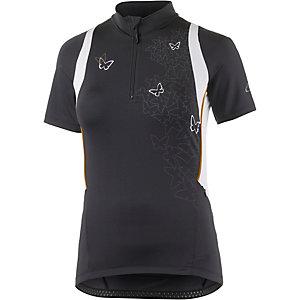 Gonso Cinder Fahrradtrikot Damen schwarz/weiß