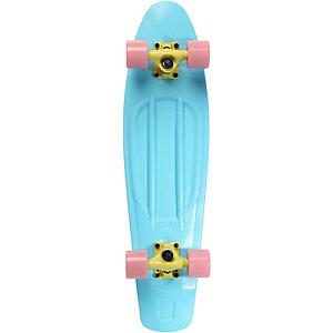 """RAM Mini Cruiser 27"""" Skateboard-Komplettset hellblau"""