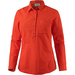 FJÄLLRÄVEN High Coast Funktionsbluse Damen orangerot